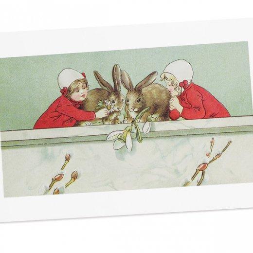 フランス イースター 復活祭 ポストカード (Paques P)【画像2】