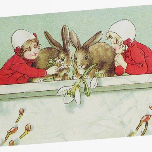 フランス イースター 復活祭 ポストカード (Paques P)【画像3】