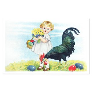 フランス イースター 復活祭 ポストカード (Paques Q)