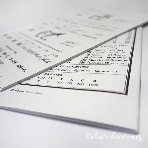 フランス製 アンティークリプロダクト学習ノート 動物【Cahier d'exercices】【画像6】