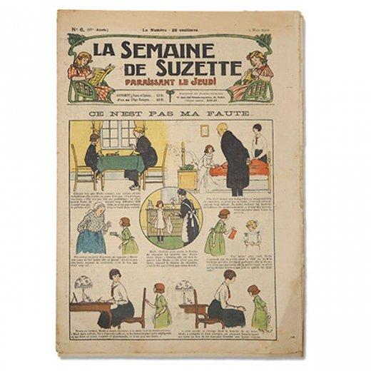 フランス La Semaine de Suzette(アンティーク週間誌  F)