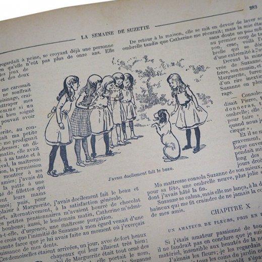 フランス La Semaine de Suzette(アンティーク週間誌  H)【画像7】