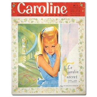 フランス Caroline(アンティーク週間誌)
