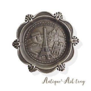 フランス蚤の市より フランス製 アンティーク アッシュトレイ(エッフェル塔 凱旋門 ノートルダム寺院)