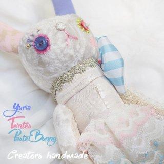 バニー ハンドメイド ぬいぐるみ【teintes pastel タント パステル 】〜 yuria手芸店