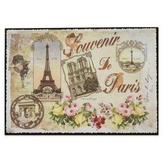 新着商品  フランス ポストカード エッフェル塔 凱旋門 ノートルダム大聖堂 コンコルド広場 バラ(souvenir de paris)