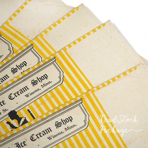 1934年 デッドストック シルエット柄 パッケージ【アイスクリーム】【画像4】