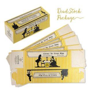 1934年 デッドストック シルエット柄 パッケージ【アイスクリーム】