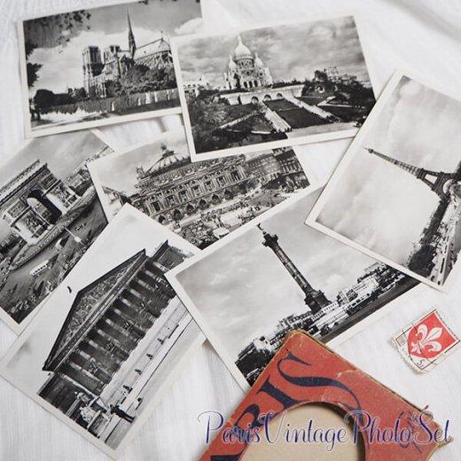 フランス 1930年代 アンティーク スーベニア フォトカードセット(エッフェル塔 凱旋門ほか Souvenir Photo 2) 【画像7】