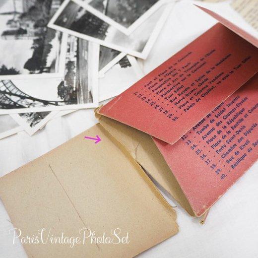 フランス 1930年代 アンティーク スーベニア フォトカードセット(エッフェル塔 凱旋門ほか Souvenir Photo 2) 【画像10】