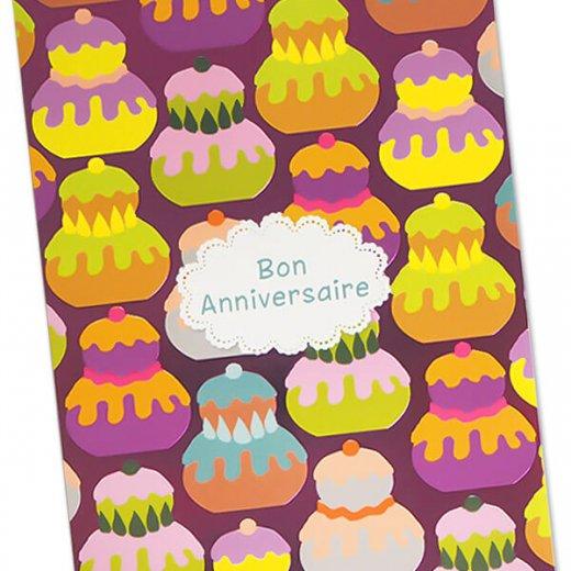 フランス ポストカード スイーツ ルリジューズ お誕生日おめでとう(Religieuses Bon Anniversaire)【画像3】