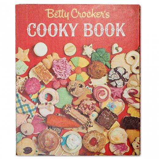 アメリカ 1963年 アンティーク本 レシピブック Betty Croker's【COOKY BOOK ベティ・クロッカー】