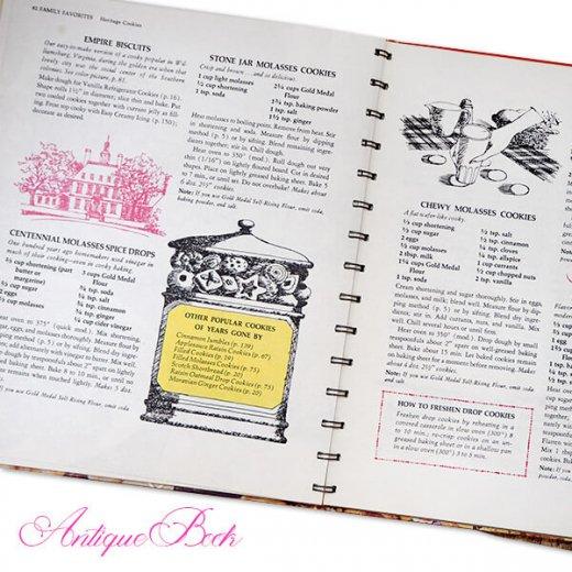 アメリカ 1963年 アンティーク本 レシピブック Betty Croker's【COOKY BOOK ベティ・クロッカー】【画像2】