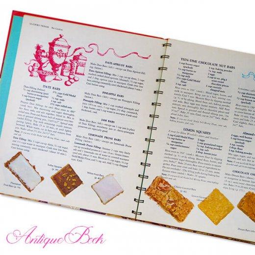 アメリカ 1963年 アンティーク本 レシピブック Betty Croker's【COOKY BOOK ベティ・クロッカー】【画像6】