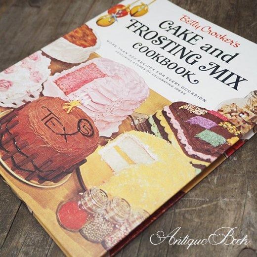 アメリカ 1960年 アンティーク本 レシピブック Betty Croker's 初版【FROSTING MIX ベティ・クロッカー】【画像10】