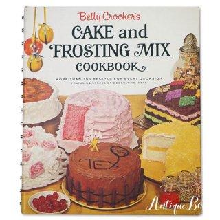 アメリカ 1960年 アンティーク本 レシピブック Betty Croker's 初版【FROSTING MIX ベティ・クロッカー】