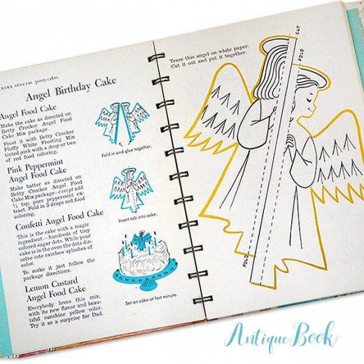 アメリカ 1957年 アンティーク本 レシピブック Betty Croker's【for Boys & Girls ベティ・クロッカー】【画像7】