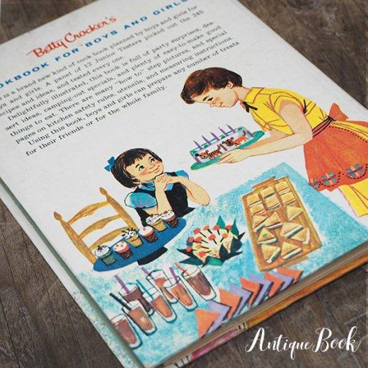アメリカ 1957年 アンティーク本 レシピブック Betty Croker's【for Boys & Girls ベティ・クロッカー】【画像10】
