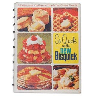アメリカ 1967年 アンティーク本 レシピブック Betty Croker's【Bisquick ベティ・クロッカー】