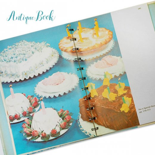アメリカ 1958年 アンティーク本 レシピブック Betty Croker's 初版【Dinner for Two ベティ・クロッカー】【画像3】