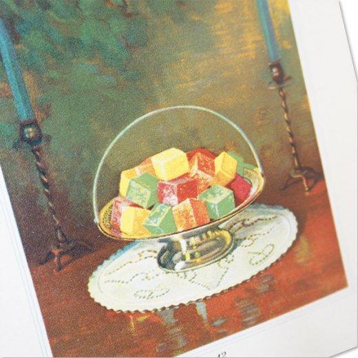 アメリカ 1930-31年 アンティーク本 レシピブック【KNOX dainty desserts ノックス ゼラチン】【画像7】