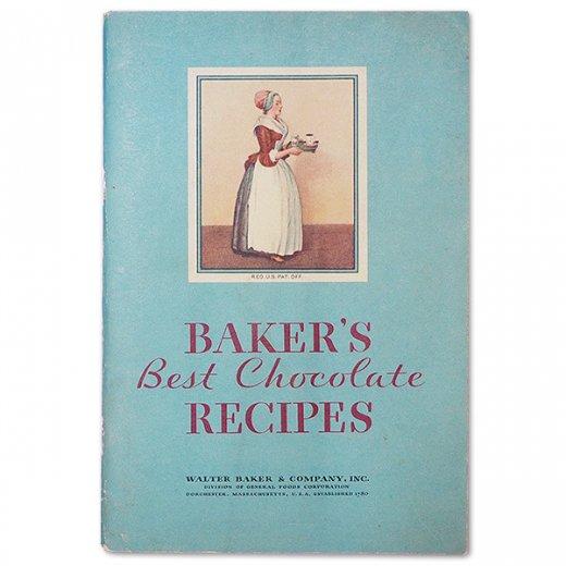 アメリカ 1932年 アンティーク本 レシピブック【Baker's Chocolate ベーカーズチョコレート】