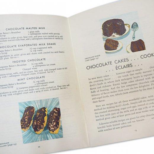 アメリカ 1932年 アンティーク本 レシピブック【Baker's Chocolate ベーカーズチョコレート】【画像3】