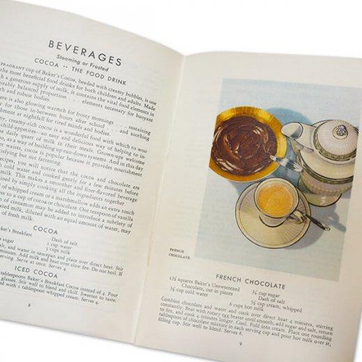 アメリカ 1932年 アンティーク本 レシピブック【Baker's Chocolate ベーカーズチョコレート】【画像7】
