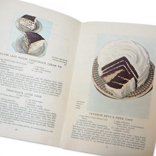 アメリカ 1932年 アンティーク本 レシピブック【Baker's Chocolate ベーカーズチョコレート】【画像8】