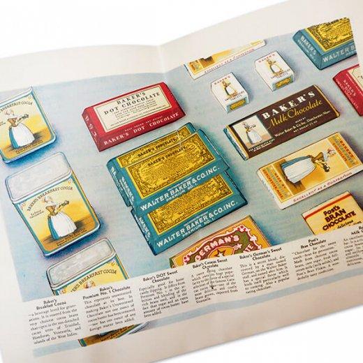 アメリカ 1932年 アンティーク本 レシピブック【Baker's Chocolate ベーカーズチョコレート】【画像9】