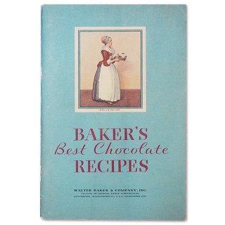 森ガール 雑貨 アメリカ 1932年 アンティーク本 レシピブック【Baker's Chocolate ベーカーズチョコレート】