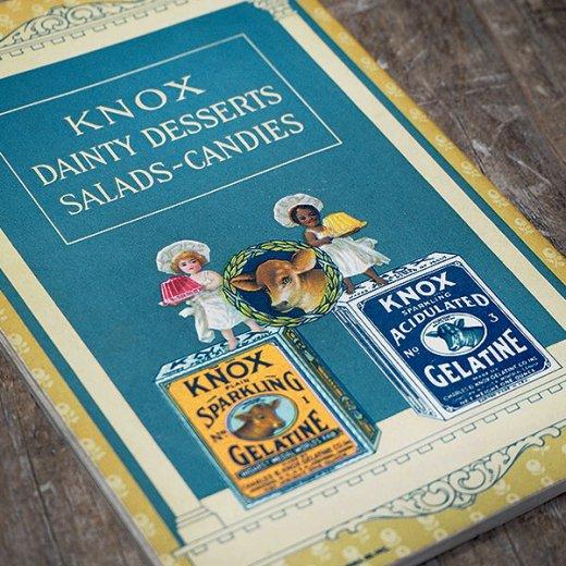 アメリカ 【希少】1927年 アンティーク本 レシピブック【KNOX dainty desserts ノックス ゼラチン】【画像9】