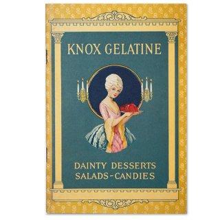 アメリカ 【希少】1927年 アンティーク本 レシピブック【KNOX dainty desserts ノックス ゼラチン】