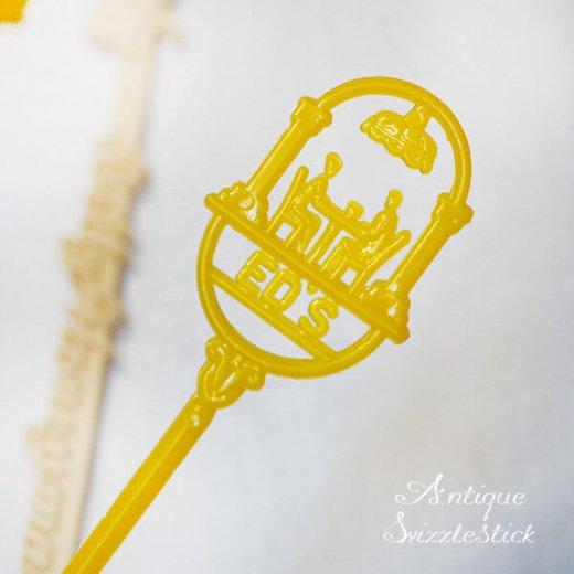 USA アンティーク マドラー  SwizzleSticks アドバタイジング 【Dタイプ・9本set】【画像5】