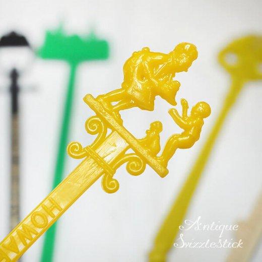 USA アンティーク マドラー  SwizzleSticks アドバタイジング 【Bタイプ・9本set】【画像3】