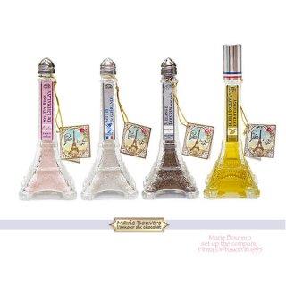 【セットがお得!】フランス Marie Bouvero エッフェル塔ボトル【4本セット】