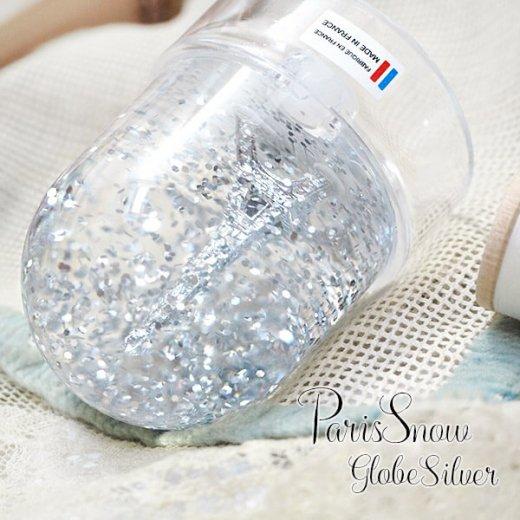 フランス スノードーム【Silver】スノーグローブ エッフェル塔  お土産 スーベニール 【画像5】