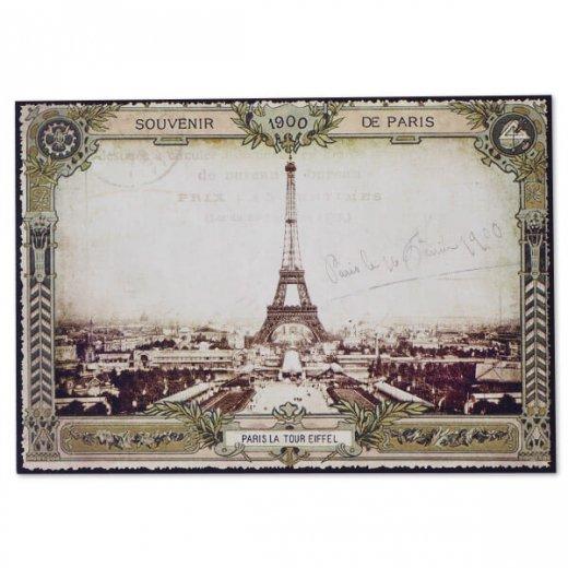 フランス ポストカード エッフェル塔 (souvenir de paris 1900)