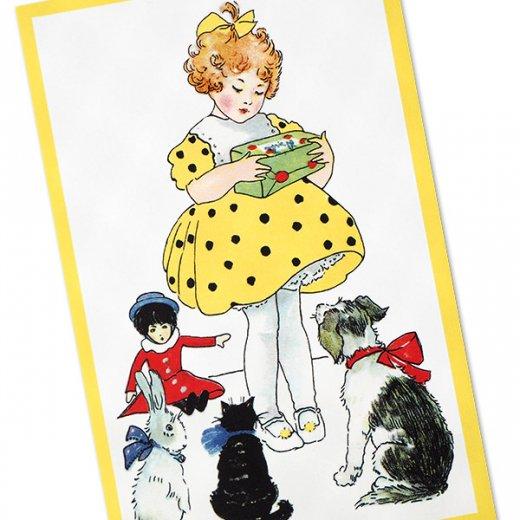フランス ポストカード  (Jaune jaune)【画像2】