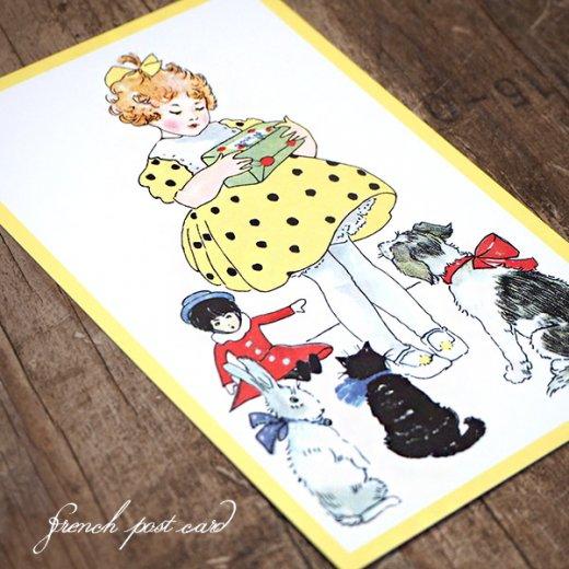 フランス ポストカード  (Jaune jaune)【画像4】