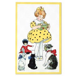 フランス ポストカード  (Jaune jaune)