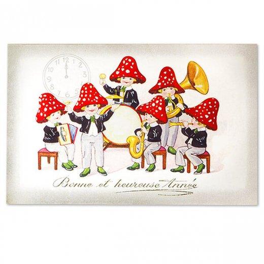 フランス ポストカード  (bonne et heureuse annee)