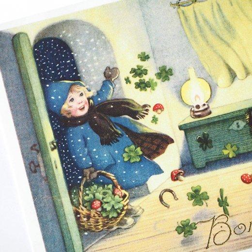 フランスポストカード (Bonne Annee H)【画像3】