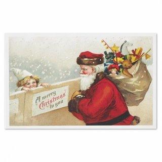フランスポストカード (Joyeux Noel N)