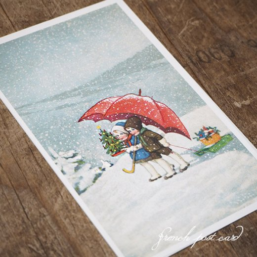 フランスポストカード (Joyeux Noel 0)【画像4】