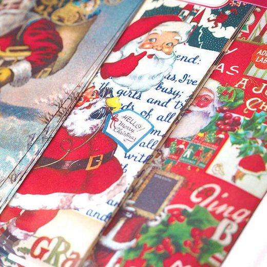 Cavallini & Co. カバリーニ クリスマス ラッピングセット【ヴィンテージ クリスマスB】【画像2】