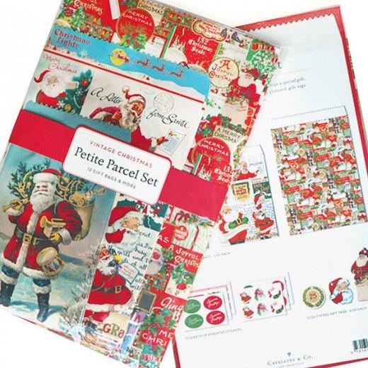 Cavallini & Co. カバリーニ クリスマス ラッピングセット【ヴィンテージ クリスマスB】【画像4】