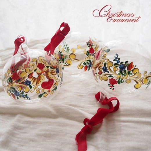ドイツ ヴィンテージ クリスマスオーナメント【単品売り】 直径8cm  小鳥【画像6】