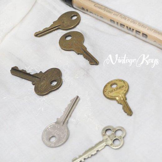 USA 1950年代〜 アンティーク キー 6本セット 鍵【E-type】【画像4】