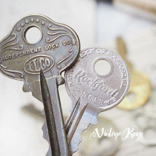 USA 1950年代〜 アンティーク キー 6本セット 鍵【E-type】【画像5】